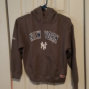 Stitches Youth NY Yankees Gray Hoodie